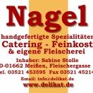 Nagel Catering, Fleischergasse 1, 01662 Meißen